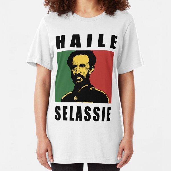 Haile Selassie BLK Slim Fit T-Shirt