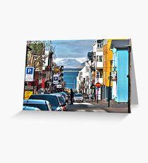 Streets of Reykjavik Greeting Card