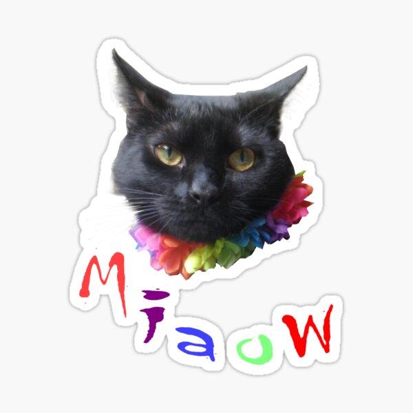 Oor wee cat Bella Sticker