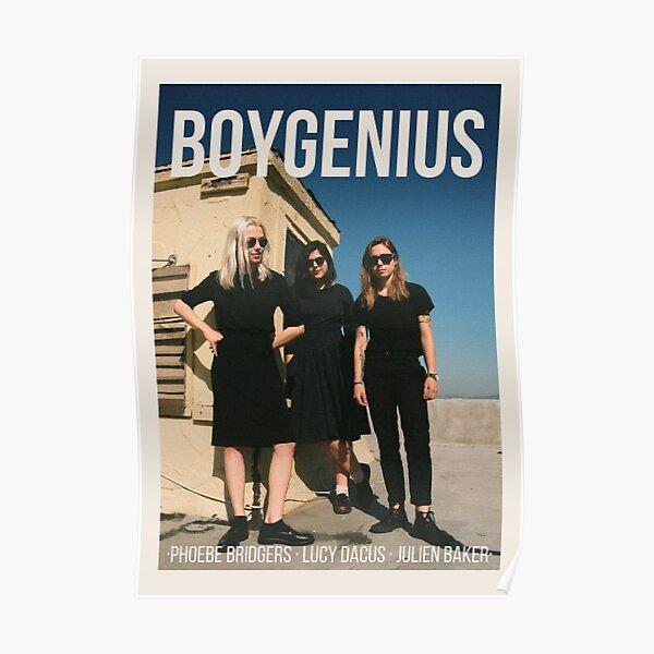 conception d'affiche Boygenius Poster