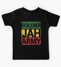 Camiseta para niños Soldado del ejército Jah