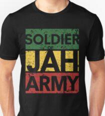 Camiseta unisex Soldado del ejército Jah