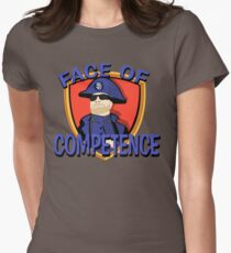 FACE of Competence Women's Fitted T-Shirt
