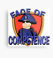 FACE of Competence Metal Print