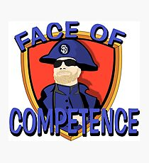 FACE of Competence Photographic Print