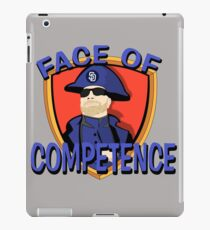 FACE of Competence iPad Case/Skin