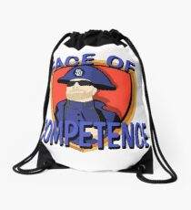 FACE of Competence Drawstring Bag