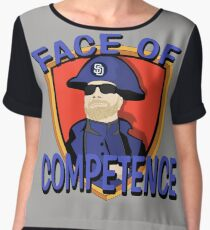 FACE of Competence Chiffon Top