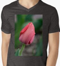 Raindrops on a Red Tulip T-Shirt