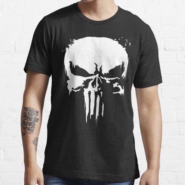 The Punisher Jon Bernthal Frank Castle Punisher Noir T-shirt essentiel