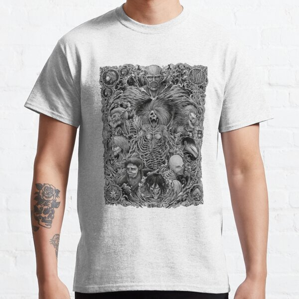 Attack on Titan season 4 the nine titans in one picture Classic T-Shirt