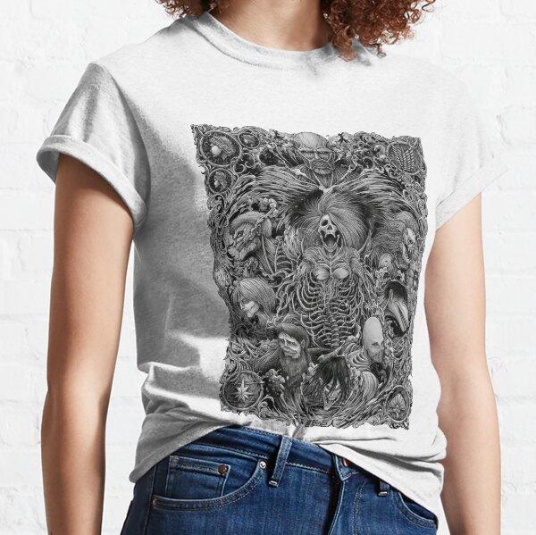 Attack on Titan saison 4 Les neuf titans en une seule photo T-shirt classique