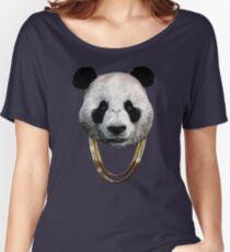 Panda_Large Women's Relaxed Fit T-Shirt