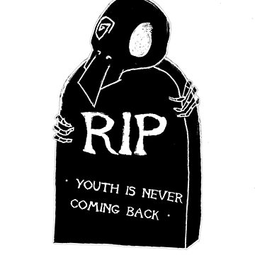 DEAD YOUTH Ⓡ / youth is never coming back ~ BLACK Ver. by wayfinder