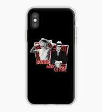 Bonnie and Clyde - Warren Beatty and Faye Dunaway iPhone Case