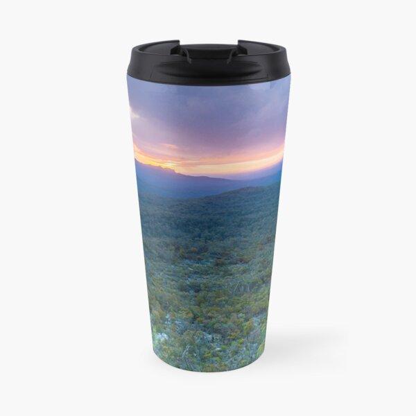 Grampians National Park - Sunset with a stormy sky Travel Mug
