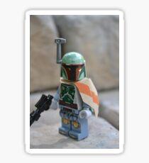 Lego Star Wars Boba Fett Sticker