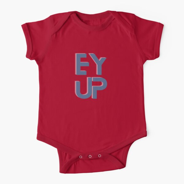 Ey up Short Sleeve Baby One-Piece