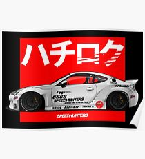 FT86 X SPEEDHUNTER Poster