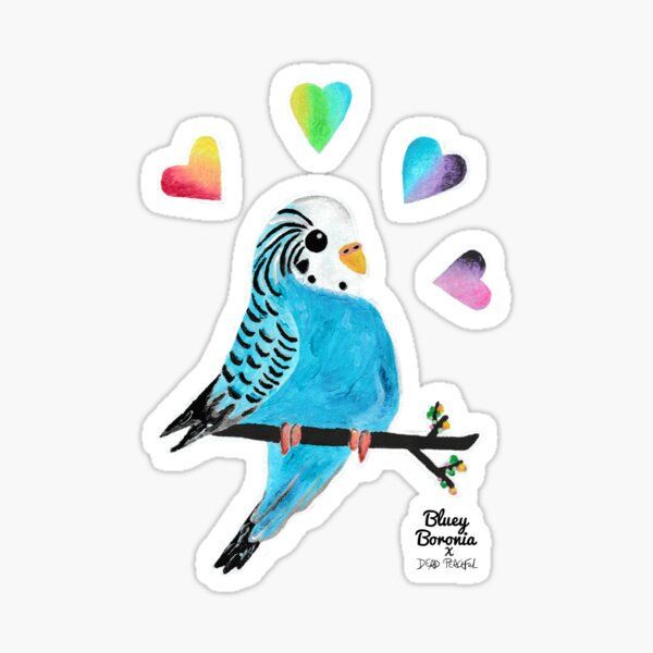 Bluey Boronia x Dead Peaceful Sticker