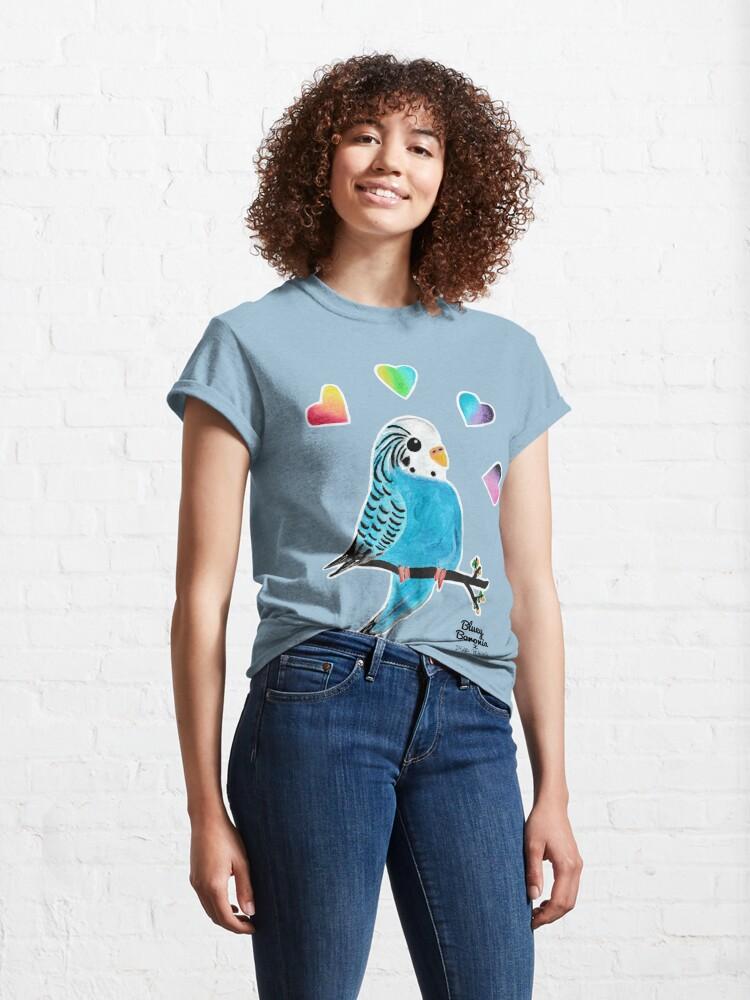 Alternate view of Bluey Boronia x Dead Peaceful Classic T-Shirt