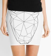 Wire Faceted Rhino Mini Skirt