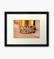 Colorful life 6 Framed Print