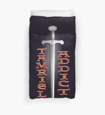 Tamriel Addict Duvet Cover