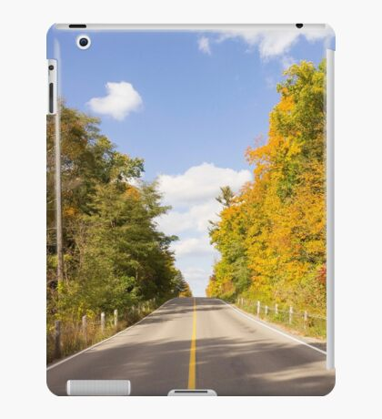 Autumn Road to Nowhere 2 iPad Case/Skin
