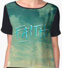 Faith Women's Chiffon Top