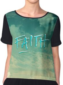 Faith Chiffon Top