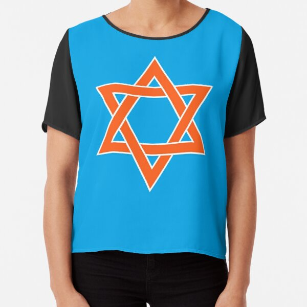 ✡︎ #Star of #David #Clipart #StarOfDavid ✡︎ Chiffon Top