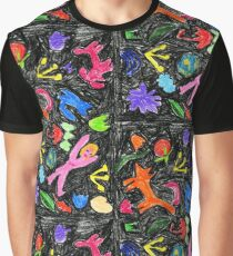 oil pastel pattern Graphic T-Shirt