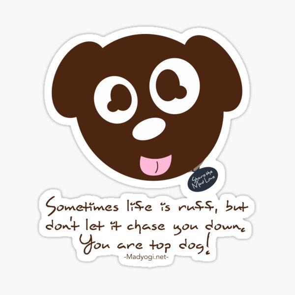 Yogi Doggie Sticker