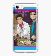 Carpenter Jack Burton & Snake Plissken iPhone Case/Skin