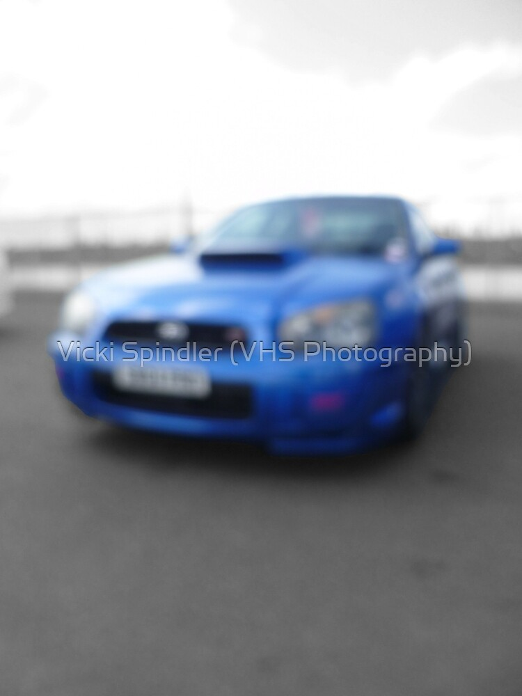 Blurred Subaru by Vicki Spindler (VHS Photography)
