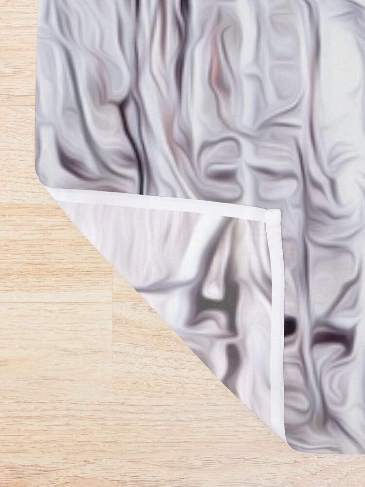 Alternate view of Birch Trees Shower Curtain