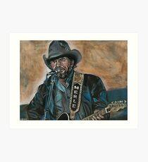 Merle Haggard Art Print