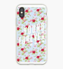 Vinilo o funda para iPhone Young Forever - Floral