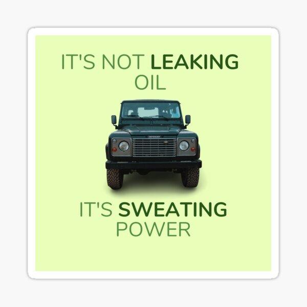 Land Rover Defender ne fuit pas d'huile, sa puissance de transpiration Sticker