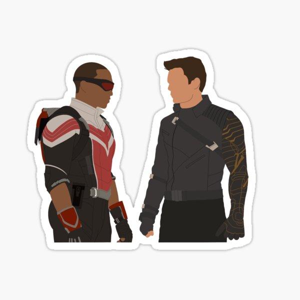 Anthony Mackie and Sebastian Stan Sticker