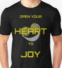 Open Your Heart to Joy Unisex T-Shirt