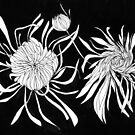 Chrysanthemums by Aleksandra Kabakova