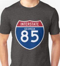 Atlanta Interstate 85 Sign T-Shirt