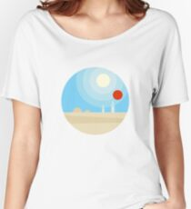 Twin Suns Women's Relaxed Fit T-Shirt