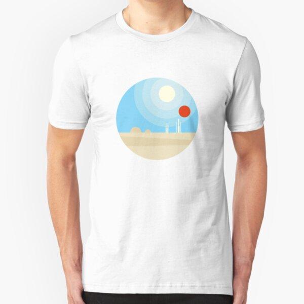 Twin Suns Slim Fit T-Shirt