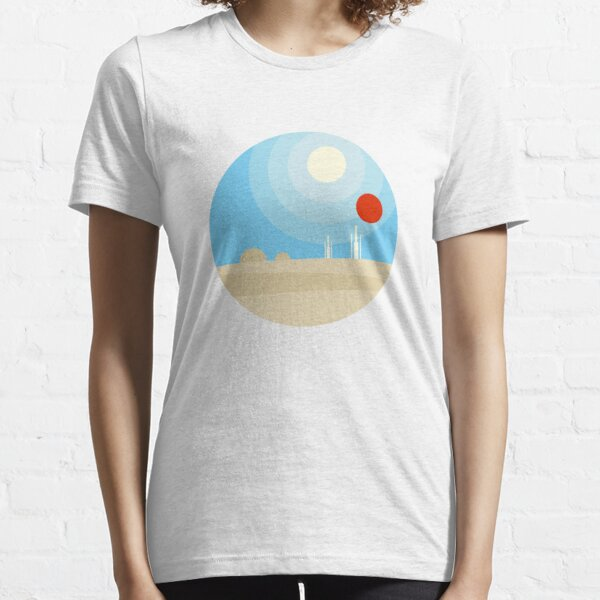 Twin Suns Essential T-Shirt