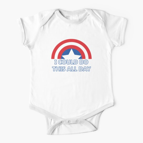 All Day Short Sleeve Baby One-Piece