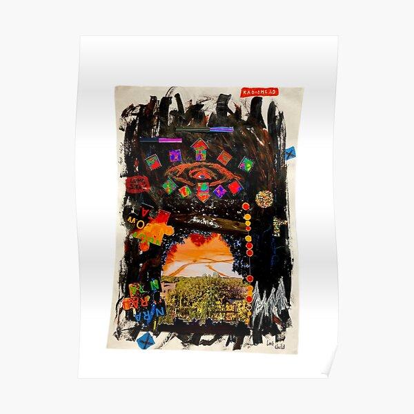 Collage de Radiohead Póster