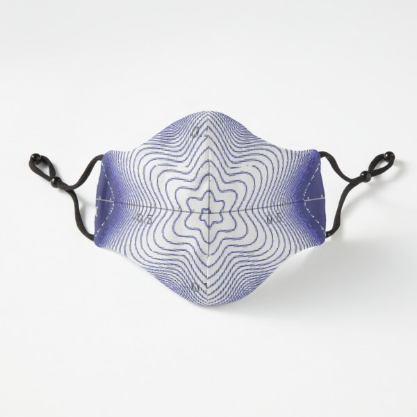 Fitted Masks, Spiral: Star of David Fitted 3-Layer